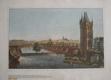 Hradčany, Malá Strana, Mostecká věž - Praha 1830