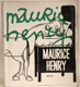 HENRY, MAURICE. 1967. Odeon. Humor a kresby sv. 4. /60/kreslený humor/satira/karikatury/