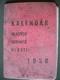 Kalendář mladých obránců vlasti 1938