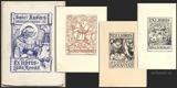 LÁĎA NOVÁK. Popisný seznam jeho ex libris. 1938. Monografie ex libris II. 7 původních ex libris. /exlibris/