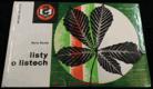 Listy o listech : příručka k určování listnatých stromů a keřů