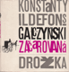 Galczynski - Začarovaná drožka