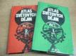 KAPESNÍ ATLAS SVĚTOVÝCH DĚJIN 1. a 2. díl, 2 svazky