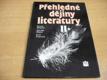 Přehledné dějiny literatury. Díl 2