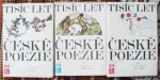 Tisíc let české poezie I - III