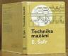 Technika mazání