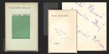 TRIUMF SMRTI. 1936. Dedikace s podpisem Vladimíra Holana. 2. přepracované vydání.  Poesie sv. 17.