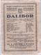 Dalibor - Opera o 3 jednáních