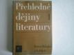 Přehledné dejiny literatury I.