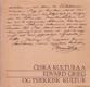 Česká kultura a Edvard Grieg (s venovaním a podpisom autora)
