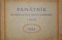 Památník manifestačního sjezdu legionářů v Praze 1924