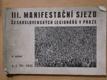 III. manifestační sjezd československých legionářů v Praze