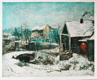 Zima na Malovance, olej, 1936