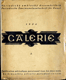 GALERIE - Periodický umělecký dvouměsíčník lidový 1924