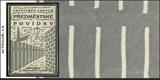 Čapek - LANGER, FRANTIŠEK. PŘEDMĚSTSKÉ POVÍDKY. 1926. Obálka (lino) JOSEF ČAPEK. /jc/
