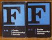 Česko - francouzský slovník A -  Q /  Česko - francouzský slovník R - Ž