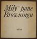Milý pane Browningu. Výbor z korespondence Elizabeth Barrettové-Browningové a Roberta Browninga