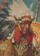 Rozkládací 3D obrázek indiánská vesnice