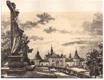 Svatá Hora u Příbrami - litografie