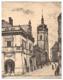 Mělník - litografie