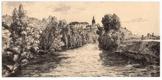 Benátky nad Jizerou - litografie