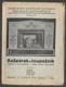 KAŠPÁREK A LOUPEŽNÍK. 1938. Storchovo loutkové divadlo.  /loutkové divadlo/