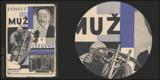 MUŽ A ELEGANCE. 1929. Fotomontážní obálka OTAKAR MRKVIČKA.