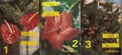Rostliny v interiéru 1 až 3, komplet 3 svazky