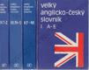 Velký anglicko český slovník  (4. svazky)