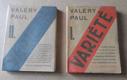 Paul Valéry: Variété, 2 svazky