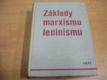 Základy marxismu leninismu. Učební pomůcka