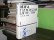 Dějiny francouzské literatury 19. a 20. stol. 1