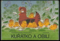 Kuřátko a obilí