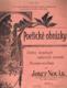 POETICKÉ OBRÁZKY - SBÍRKA SNADNÝCH SALONNÍCH SKLADEB NA PIANO NA 2 RUCE - SEŠIT Č.5