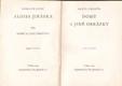 Alois Jirásek Sebrané spisy VII. Domů a jiné obrázky. Vydáno 1927