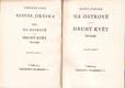 Alois Jirásek Sebrané spisy XIV. Na ostrově, Druhý květ. Vydáno 1930