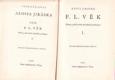 Alois Jirásek Sebrané spisy XXIX. F.L. Věk I. Vydáno 1936.