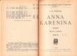 Anna Karenina od: Lev Nikolajevič Tolstoj, část II. Vydáno 1929