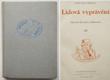 Lidová vyprávění - Moravské Horácko a Podhorácko III