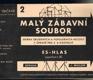 MALÝ ZÁBAVNÍ SOUBOR Č.2 - SBÍRKA OBLÍBENÝCH A POPULÁRNÍCH MELODIÍ V ÚPRAVĚ PRO 3-8 NÁSTROJŮ - ES-HLAS / SAXOFON I-III /