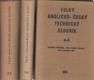 Velký anglicko-český technický slovník I. - II. - III.