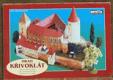 Hrad Křivoklát - papírová stavebnice modelu