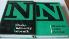 Česko německý a německo český slovník