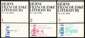 Dějiny francouzské literatury 1-3