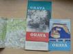Orava 1:75000 mapa. příloha, plast.složka (1960)