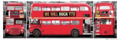 LONDÝN - BUS TRIPTYCH
