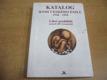 Katalog knih českého exilu 1948-1994. Libri pro