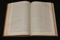 Sedmimístné logaritmy čísel od 1 do 110000 a goniometrických funkcí v šedesátinném dělení
