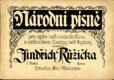 Národní písně I. sešit - pro zpěv neb mandolinu s průvodem loutny neb kytary