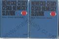 Česko německý / Německo český slovník (2 svazky)